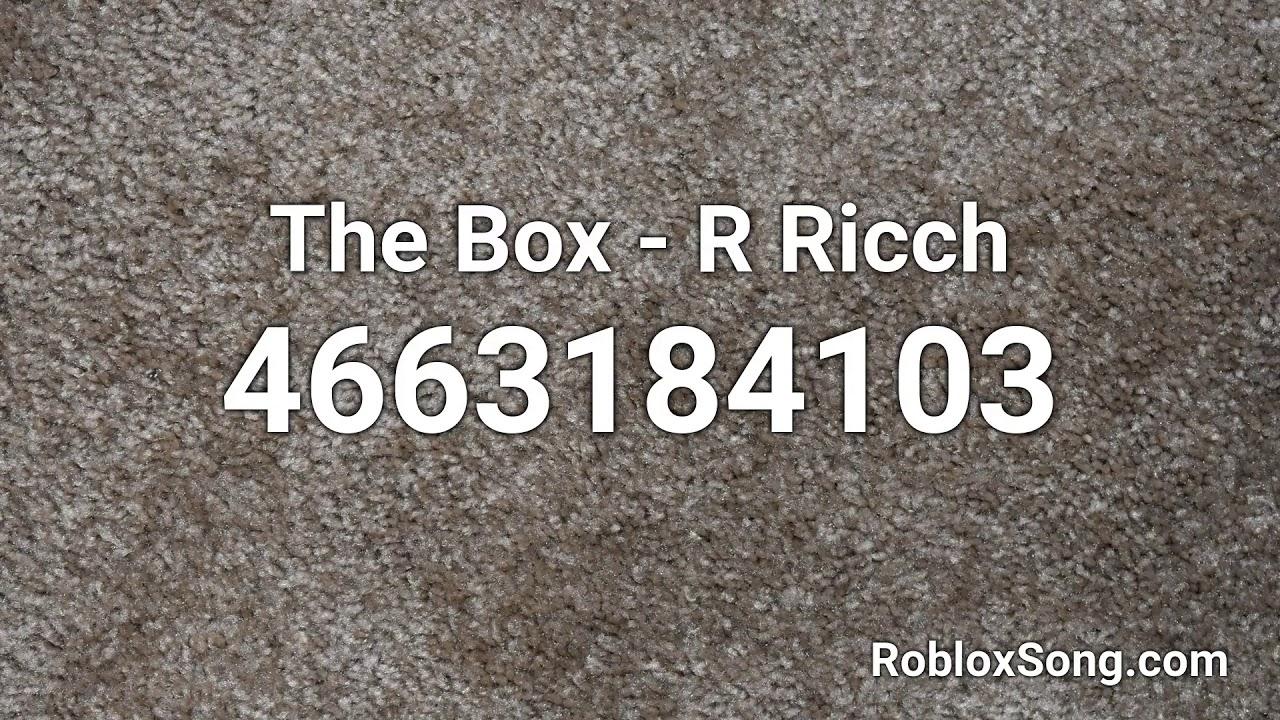 The Box R Ricch Roblox Id Roblox Music Code Youtube