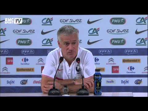 """Document RMC Sport / Deschamps : """"Je ne vais pas dire qu'ils sont favoris mais..."""" 19/06"""