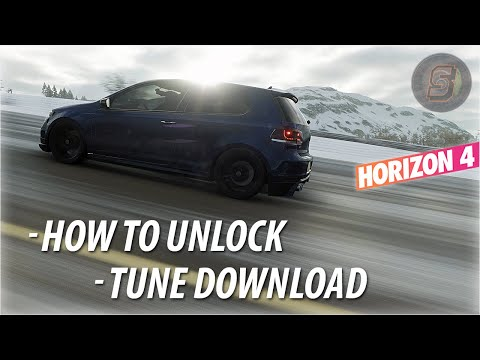 2010 VW Golf R | Forza Horizon 4 - Tune + How To Unlock | 2010 Volkswagen Golf R [Rare Car] FH4