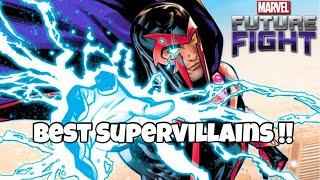 TOP TEN BEST SUPER VILLAINS  !! | Marvel Future Fight
