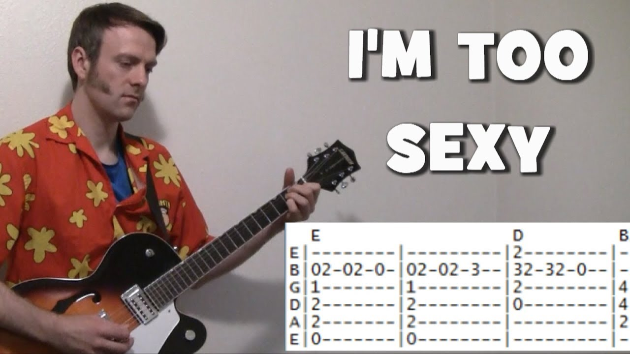 Sexy and i know it noah chords