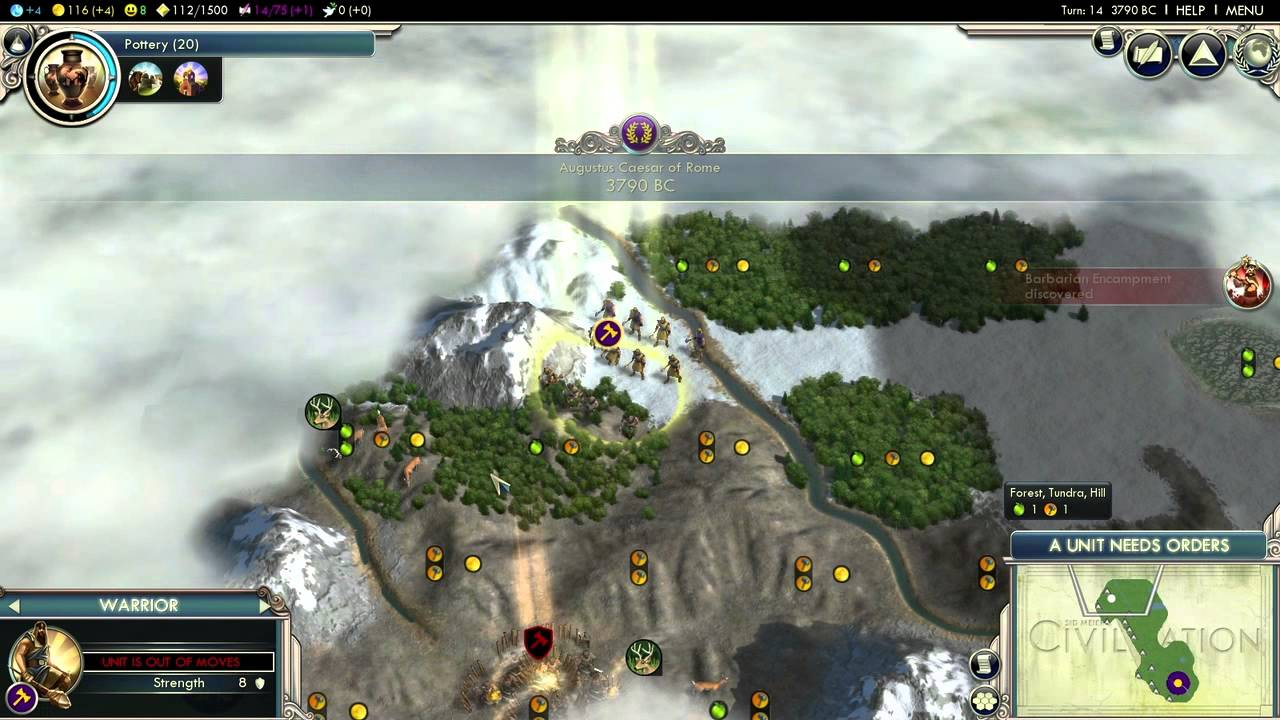 Civilization 5 ep 1 real world map youtube civilization 5 ep 1 real world map gumiabroncs Images
