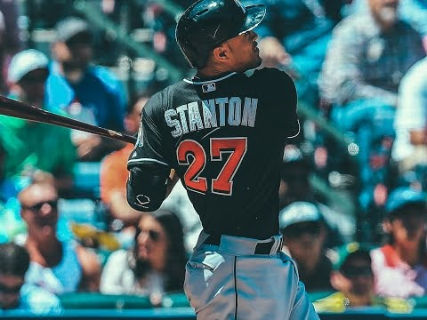 Giancarlo Stanton 2016 highlights