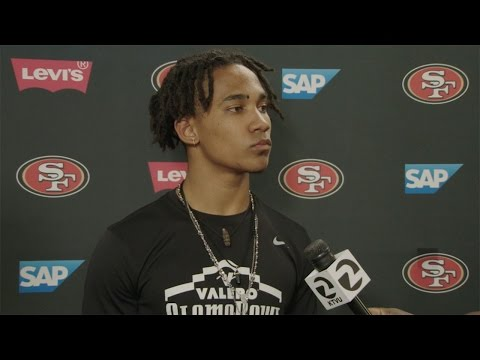 Ahkello Witherspoon Summarizes His Journey to NFL