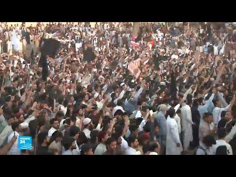 آلاف المتظاهرين في باكستان في مظاهرة باشتونية محظورة