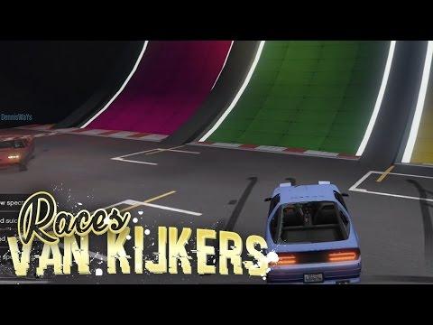 DOOR DE MUUR! - Races van Kijkers #13 (GTA V Online Funny Races)