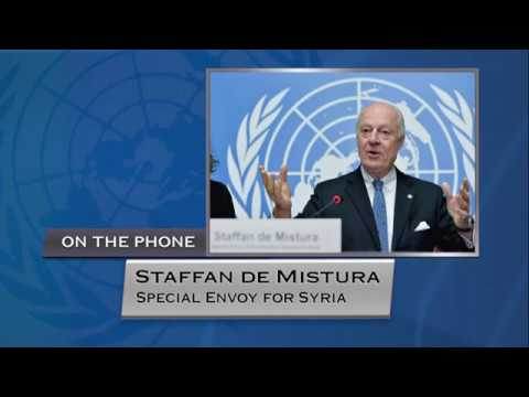 Staffan de Mistura (UN Special Envoy) on Syria - Press Conference (30 January 2018)