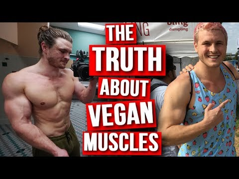 I GAINED ALL MY MUSCLE AS A MEAT EATER