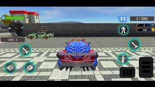 Tank Robot Game 2020 - Police Eagle Robot Car Game - Android Gameplay screenshot 3