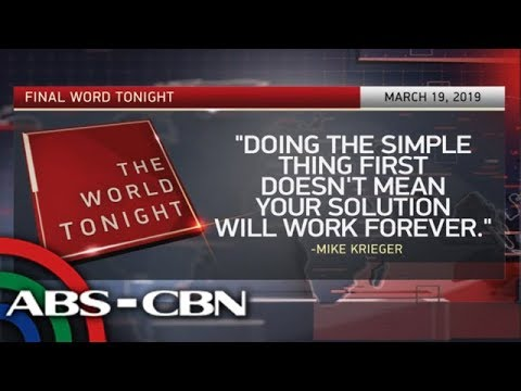 Final Word - March 19, 2019 | ANC