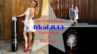 INDEPENDENCE DAY PERFORMANCE | Credo Beauty & Fireworks