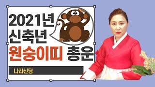 """[대박신점] 2021년 신축년 """"전반적으로 운기는 괜찮은 해"""" 원숭이띠 신년운세 -서울 부…"""