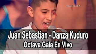 Juan Sebastían - Danza Kuduro (Don Omar) | (Programa 14) 8va Gala Factor X Kids Ecuador 2015