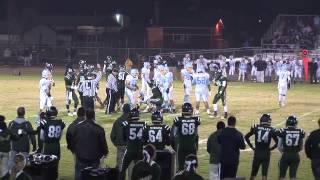 2013 Hilmar Football vs Center Section 4 Playoffs
