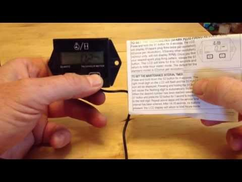 how to connect a tach