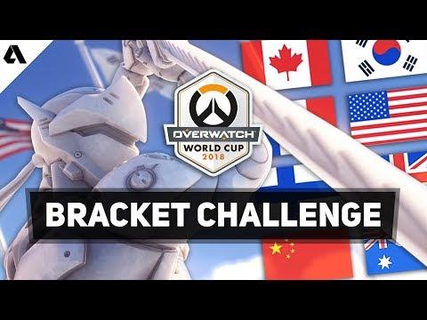 Akshon Esports Overwatch World Cup 2018  Bracket Challenge thumbnail