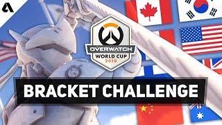 Akshon Esports Overwatch World Cup 2018  Bracket Challenge