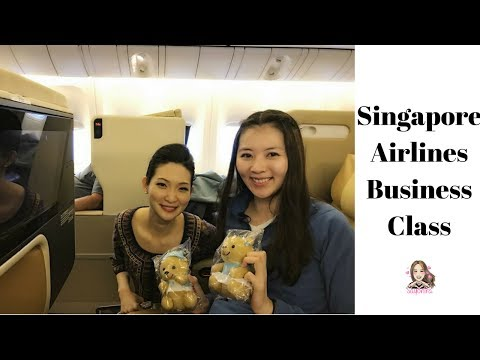 Singapore Airlines Business Class -  Perth to Nagoya
