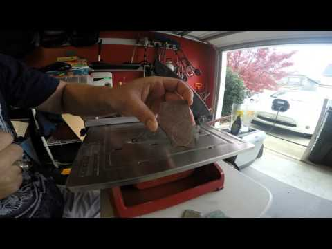 Tile Saw for Rough Rock
