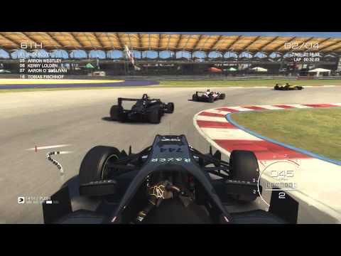 Grid Autosport Career Gameplay #3 (Open Wheel Event 1)