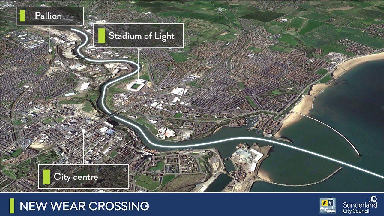 New Wear Crossing - Making the Bridge a Reality - YouTube