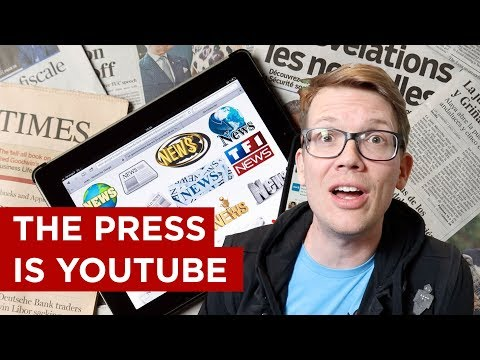 """Does """"The Press"""" Hate YouTube?"""