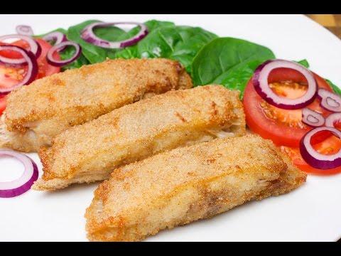 Как приготовить Камбалу. Как вкусно пожарить рыбу Камбалу.