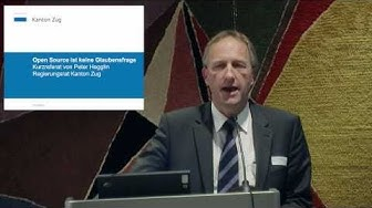 Peter Hegglin, Finanzdirektor Kanton Zug, zu OpenGever