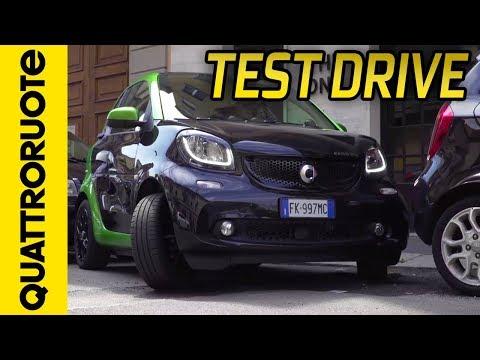 Smart Fortwo Electric Drive: prova su strada | Quattroruote