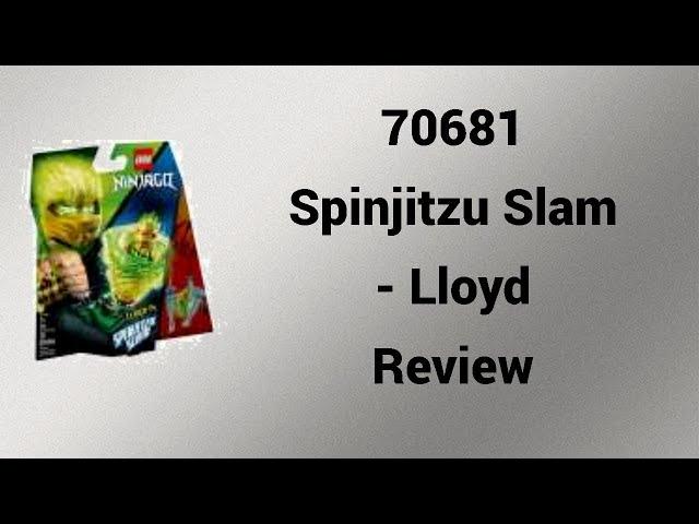 70681 Spinjitzu Slam - Lloyd Review  [deutsch] | Steinfreund2014