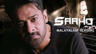 Saaho - Official Malayalam Teaser | Prabhas, Sujeeth | UV Creations