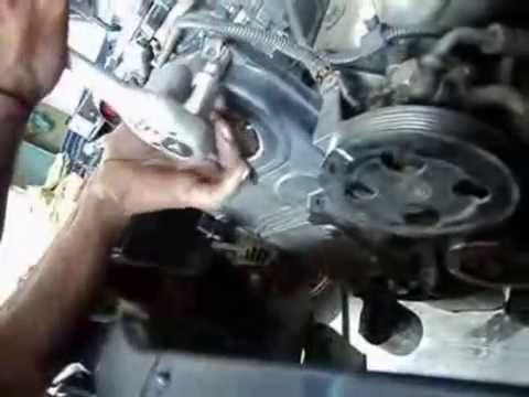 Pejero IO Timing Belt Change