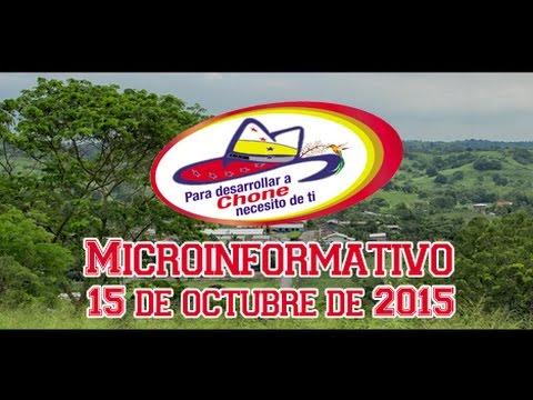 Microinformativo 15 octubre 2015