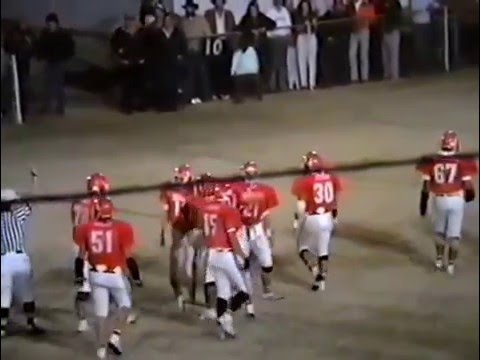 1990 Broken Bow Savages at Stilwell Indians Football