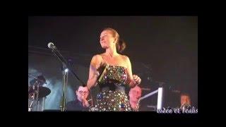 Eric BOUVELLE Sandra BOUVELLE chant CHATELLERAULT nov 2015 C'est pas la Javanaise La Foule