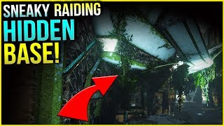 RAIDING THE SNEAKIEST BASE!  - Duo Official Small Tribe | ARK: Survival Evolved Ep.10