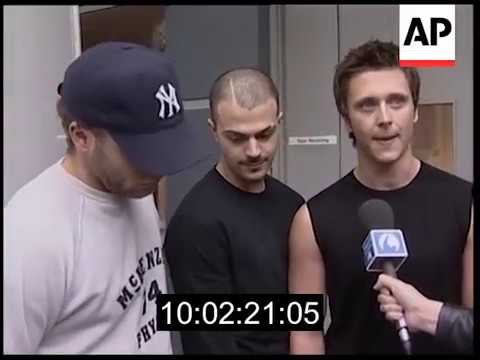 5ive (five)- the group says goodbye to the fans 2001 www.aparchive