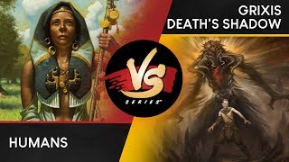 VS Live! | Humans VS Grixis Death's Shadow | Modern | Match 2