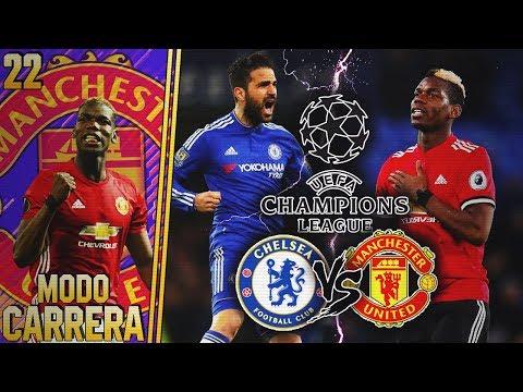FIFA 18 | MODO CARRERA - MANCHESTER UNITED | ¡UN DUELO ESPECTACULAR VS. CHELSEA! #22
