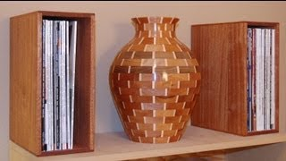 Woodworking Project - How to Make Magazine Holders