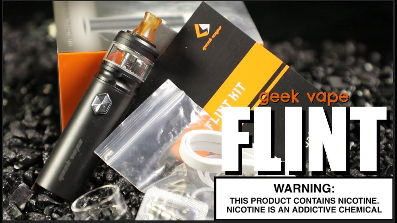Flint 1000mah Starter Kit By Geekvape Vape Kit Review Youtube