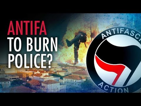 Antifa Group Suggests Burning Police | Campus Unmasked