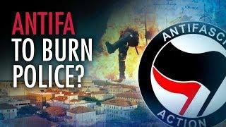 Antifa Group Suggests Burning Police | Campus Unmasked