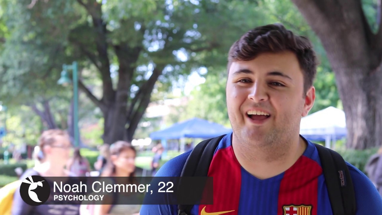 SacStateSays: 'What is your No 1 goal for the semester