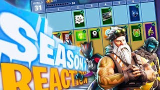 REACTION AL PASS BATTAGLIA 7 e L'ARRIVO DELL'ICEBERG - Fortnite Battle Royale ITA w/ Tear Dani Heme