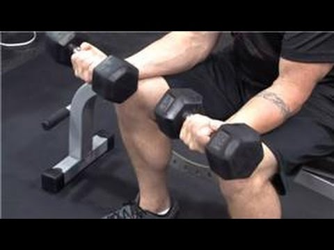 Personal Fitness Tips : How to Build Big Wrists by Using Dumbbells