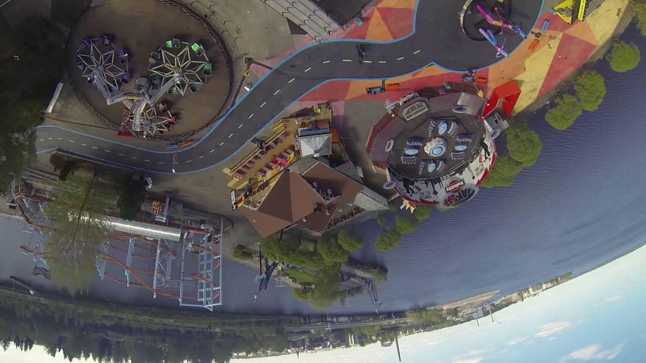 Särkänniemi 2016 - X 2nd run - mad spinning ride with 4.7Gs! - YouTube