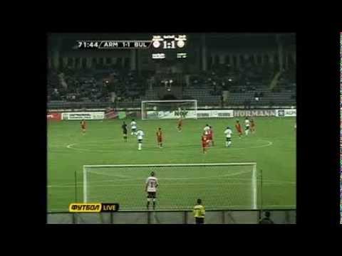 Футбол  Армения - Болгария  2-1    2 тайм  2013 10 11