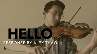 """Hello"" - Adele Male Response Cover by Alex Thao"