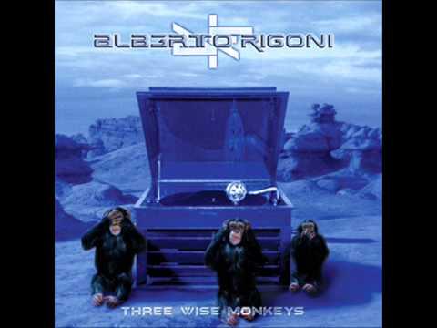 Alberto Rigoni (feat. Göran Edman) - Three Wise Monkeys